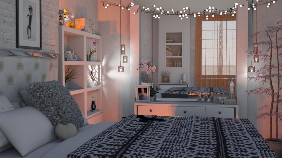 white and soft - Bedroom  - by snjeskasmjeska