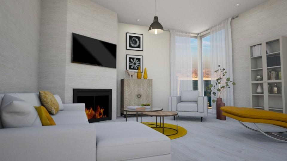 Yellow fantasy - Modern - Living room - by Jean Paul Gallardo