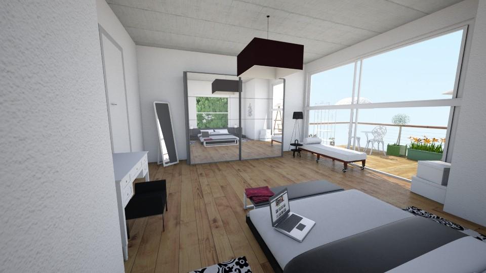 YatakOdamm - Modern - Bedroom - by Ebru Tekneci