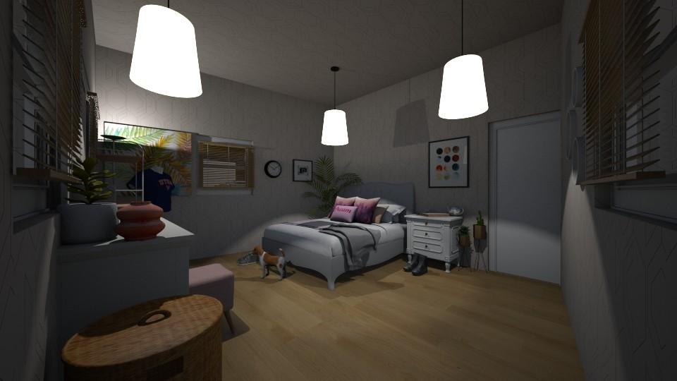 bedroom - by yukicrossnowblood