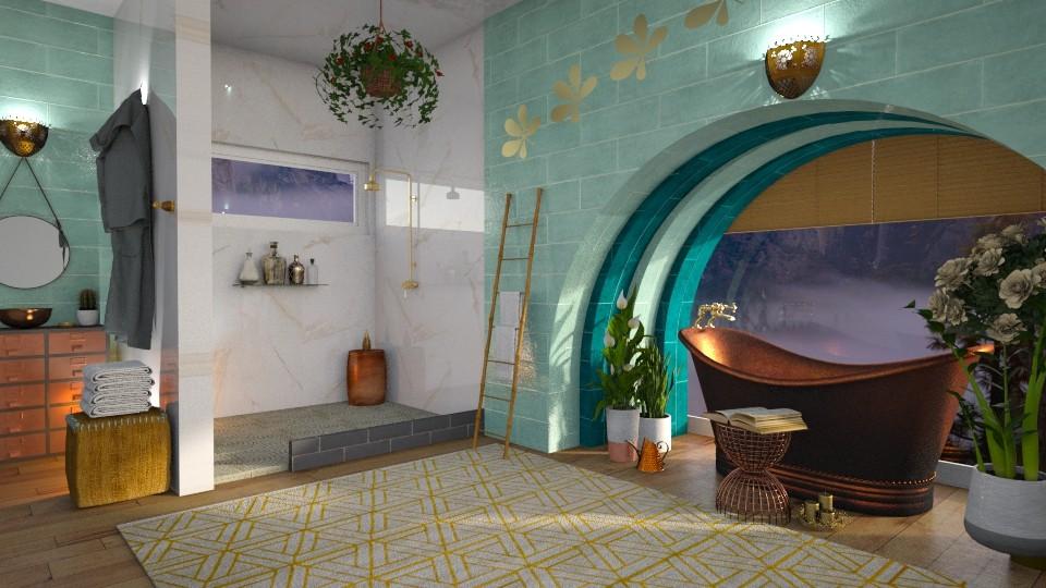 TM Bathroom - by Vanessa_D