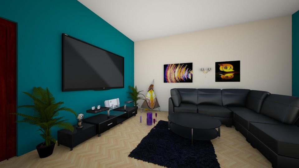 mjauuu1 333 - Living room - by pupita