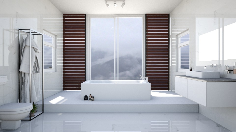 Bathroom 1 - Minimal - Bathroom - by esmeegroothuizen