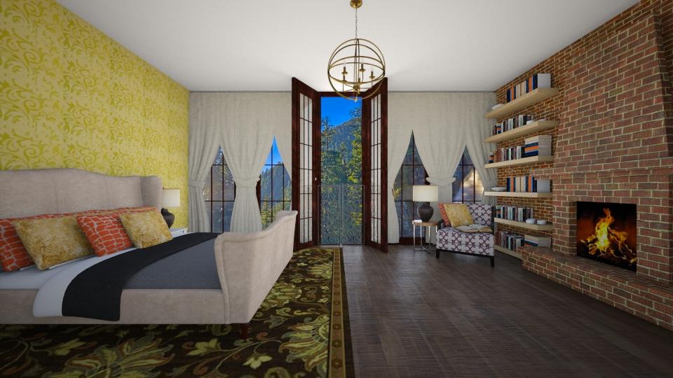 simple - Bedroom - by seldina