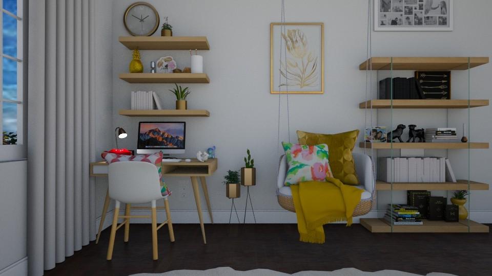 modern playful office - Modern - Office  - by avika