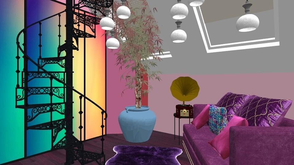 night sky  - Living room - by hevans48