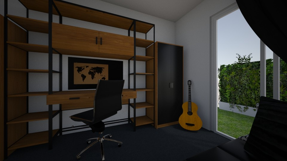 Jacobs Room - Bedroom - by Ardnaskela00