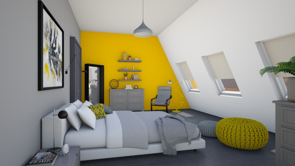 Dream a little dreams  - Bedroom - by agapka