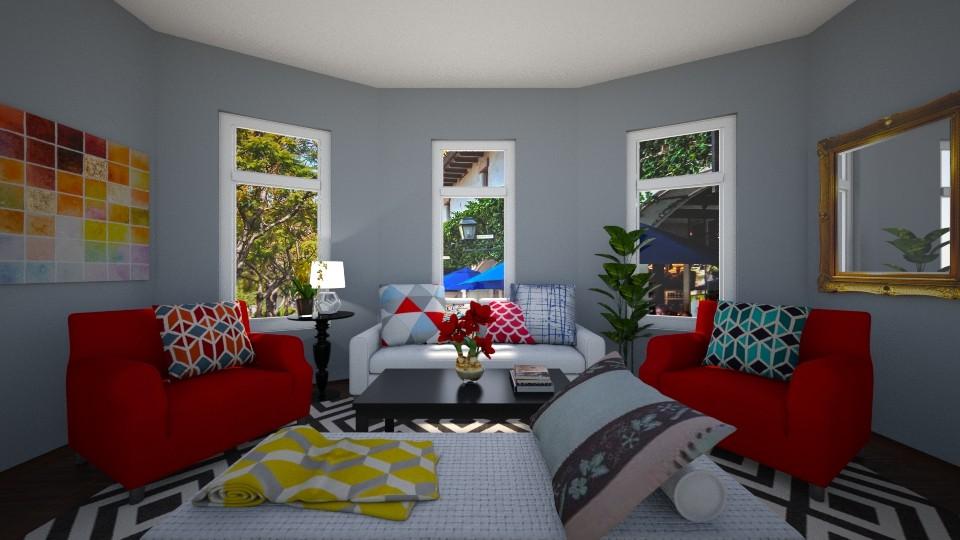 lala land - Living room - by Noa Sardoz