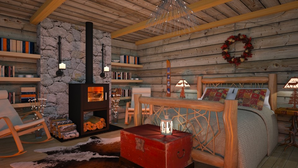 Snug as a Bug in a Rug - Eclectic - Bedroom - by Theadora