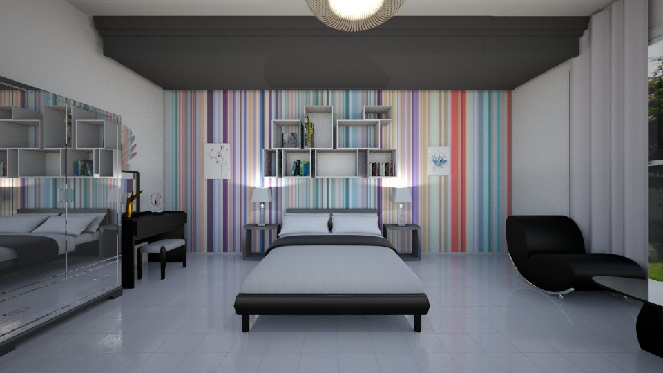 ahly - Bedroom  - by AhmedWael07