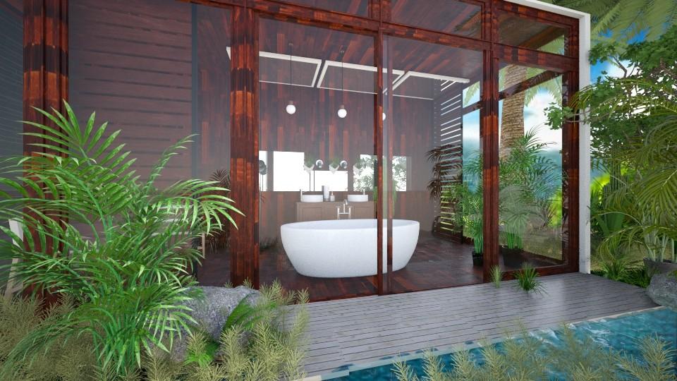 bathroom - by debbygoyens