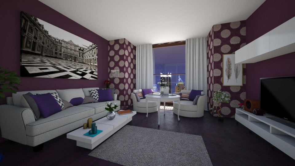 Mia Lis - Living room - by Mia Lis