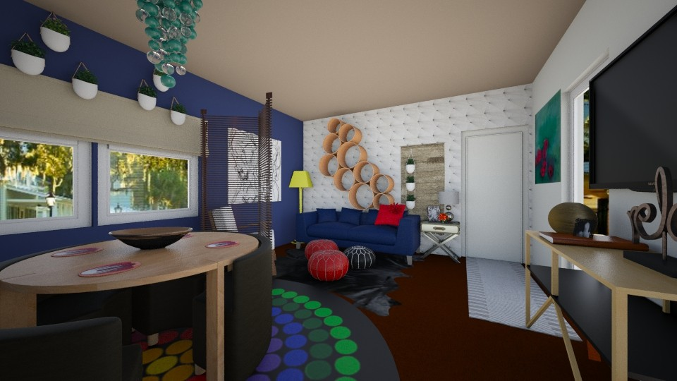 4241 living dinning - Living room - by rescueme