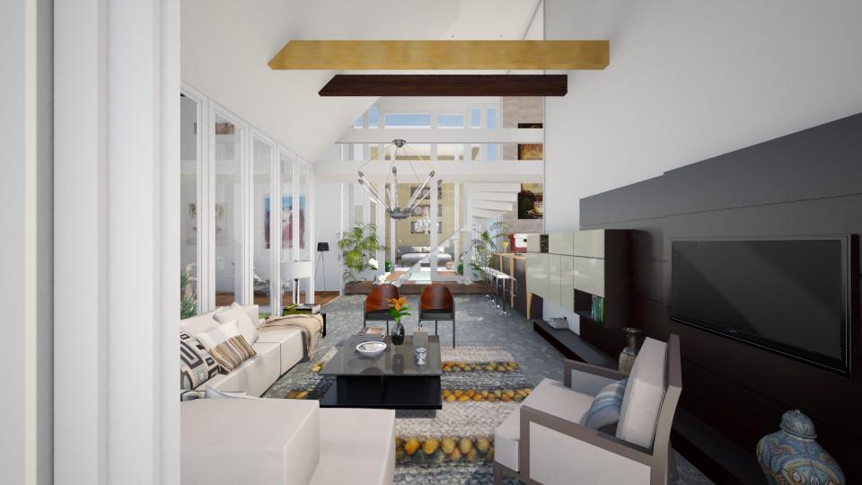 Sliced Home - Modern - Living room  - by giulygi