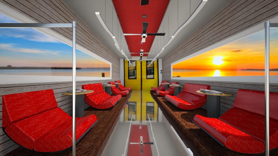 train interieur - by FriendsofGOD