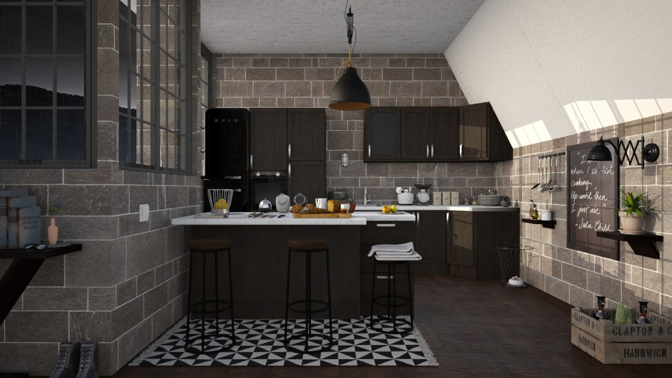 cooking moment - Kitchen - by paradise look