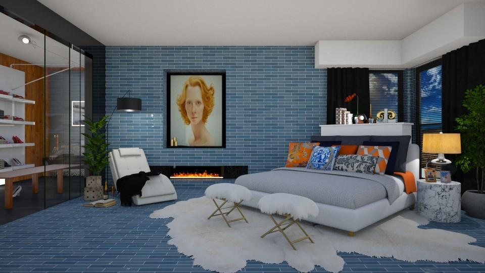 Cali  - Bedroom - by carvellak