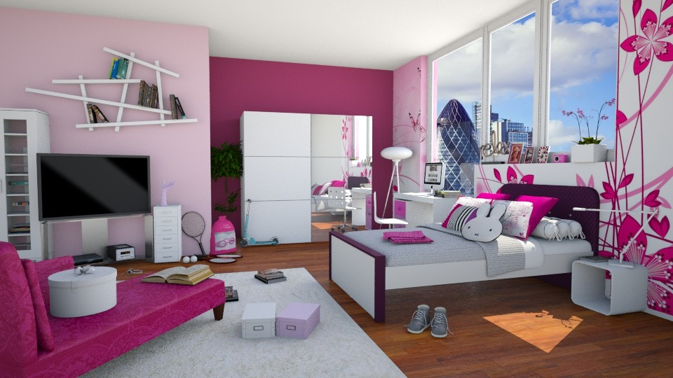 Lucky Teenager - Modern - Kids room - by carina68