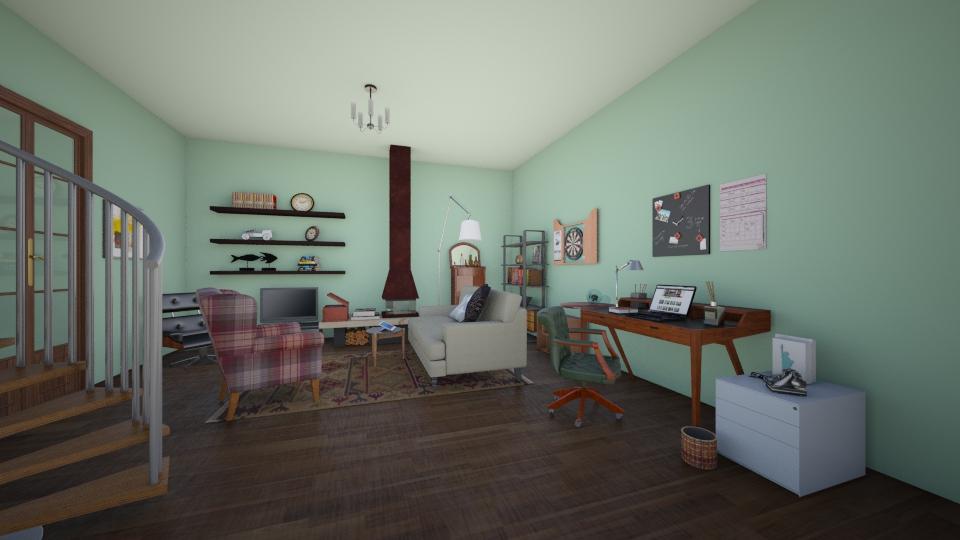 writers room - by Charlotte Aliceee