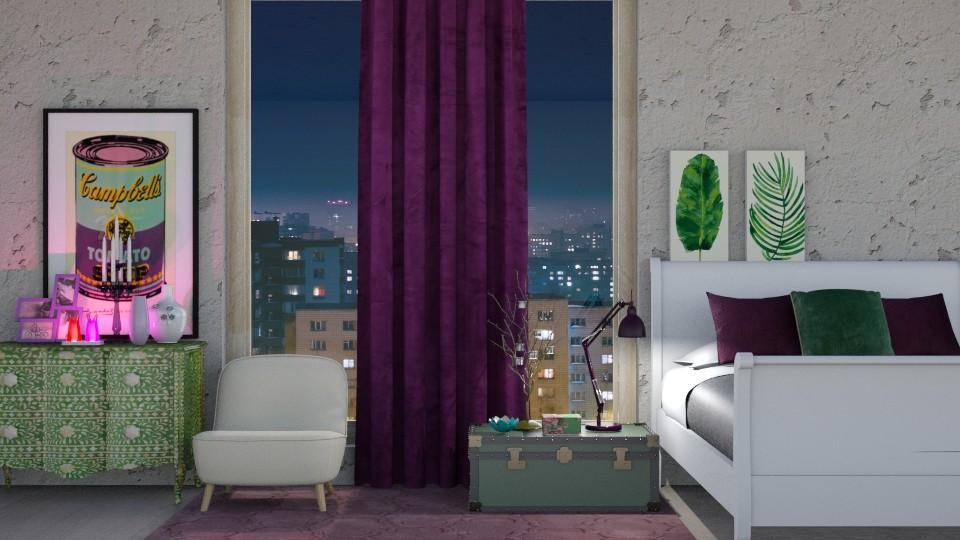 Green and purple - by seufri