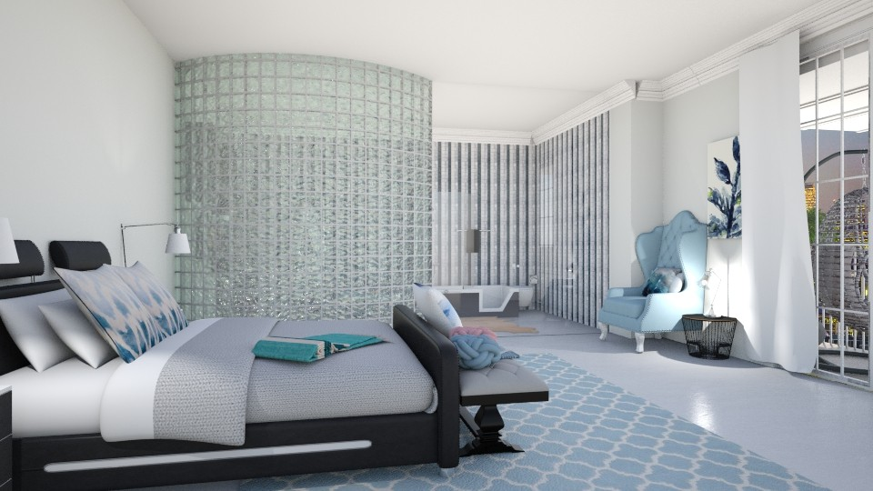 Roy1 - Bedroom - by genevivechen