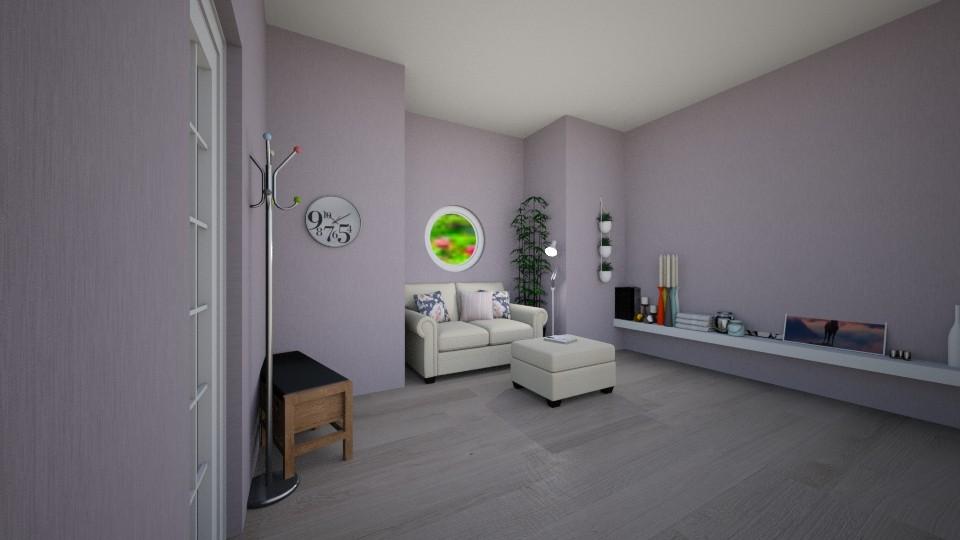 Hamilton Home Living Rm_1 - Modern - Living room - by LovelyLadyB