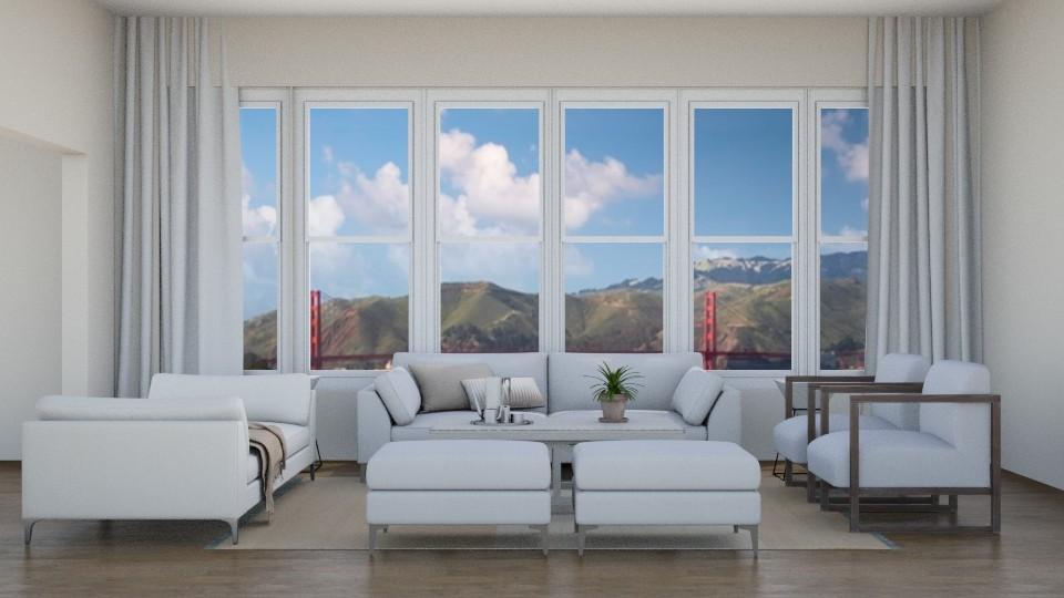 loft living room - Living room - by erstudio