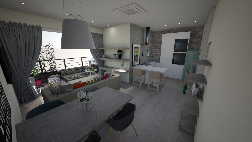 big - Living room - by bettamarchegiano