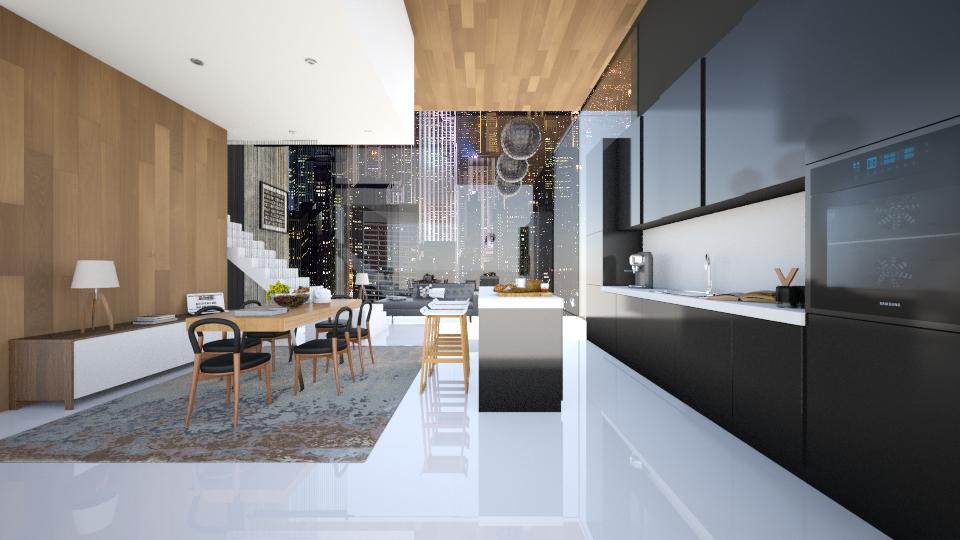 My dream place - Living room - by Antoaneta Hristova