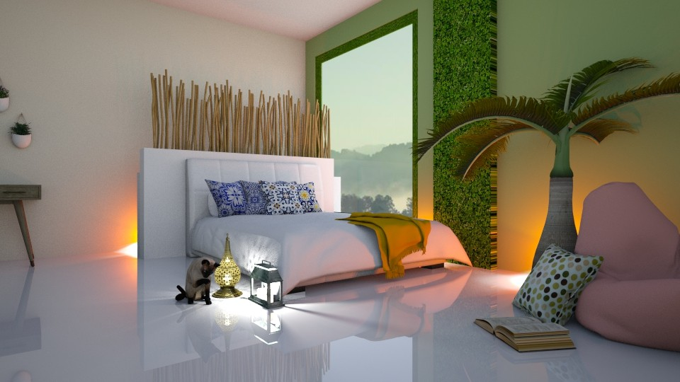 Jungle Bedroom - by designcat31