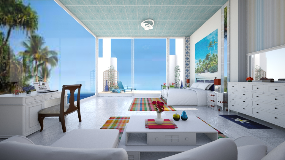 beach RESORT ROOM - by faar70