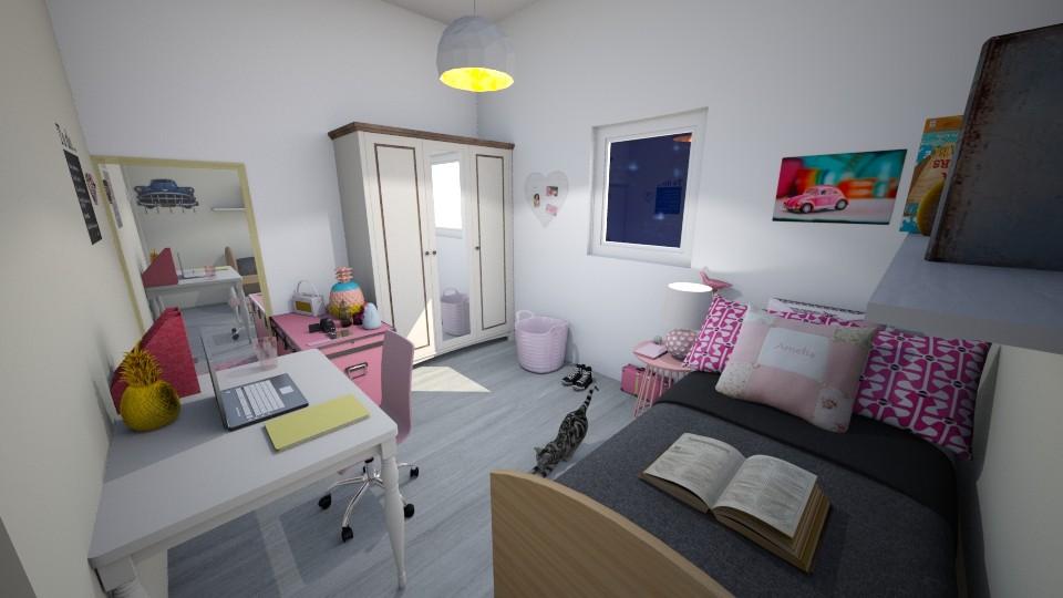 Tumblr - Modern - Bedroom - by ManonDesign