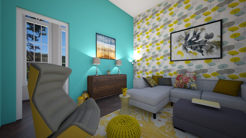 Summer House - Living room - by kennedycoleman