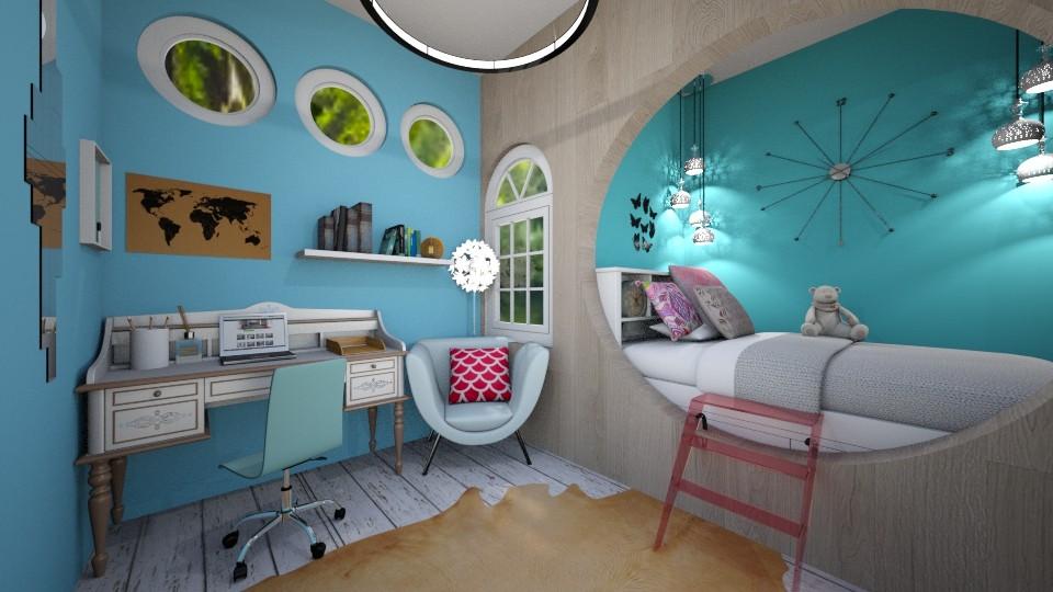 bedroom - by tigerlily_bel