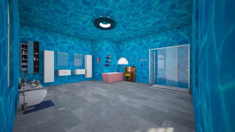 my bathroom - by Deni star
