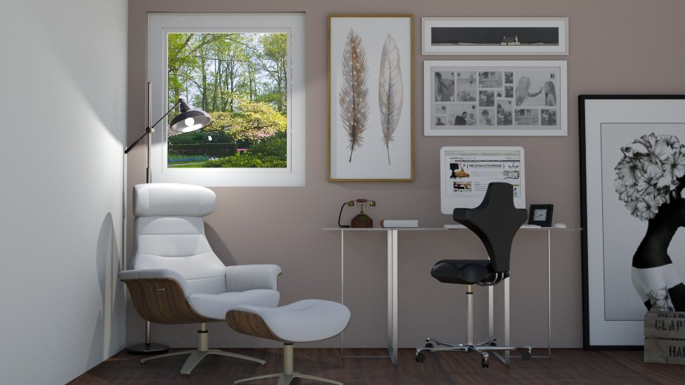 Home Office - by lizasvetlin