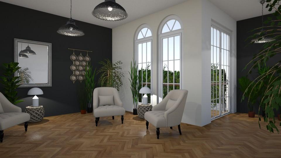 Room 1 - Living room - by Tiffany Y