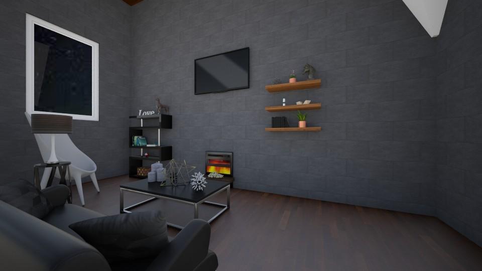 Modern Living Room - Modern - Living room  - by VibrantSplash