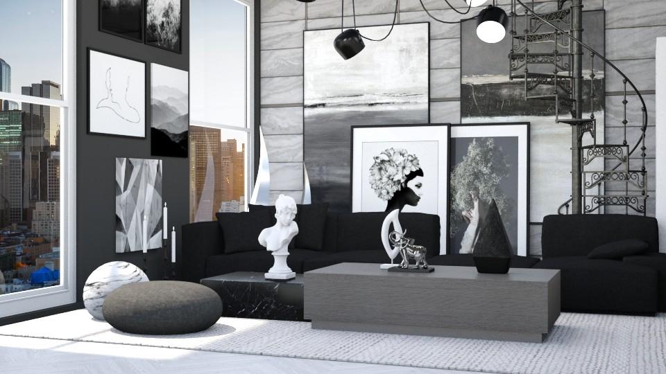 Art Loft - Living room  - by igell90