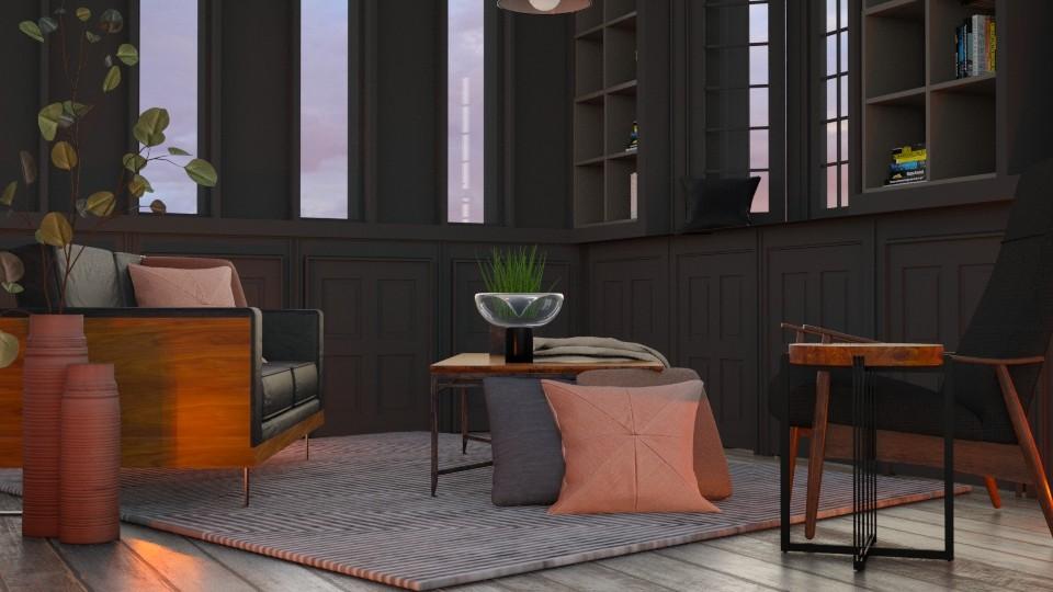desert deep - Living room - by laughterlines