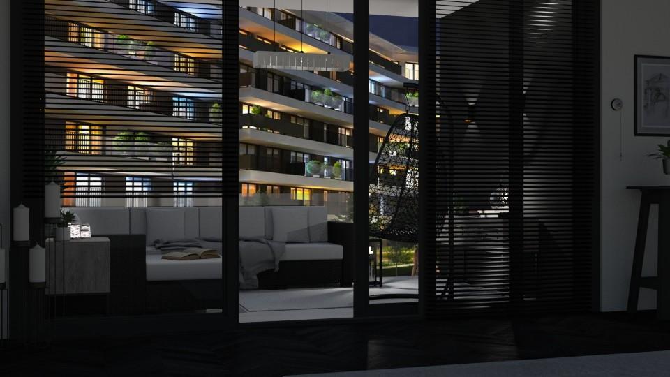 apartment balcony - by jolaskajp