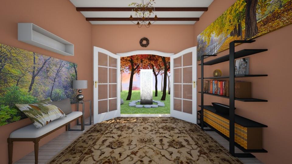 Autumn Living - Living room - by Hannah Nicole_955