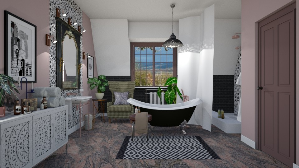 Eclectic Bathroom - Eclectic - Bathroom - by janip