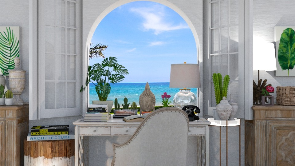 bahamian window  - by minervinoi