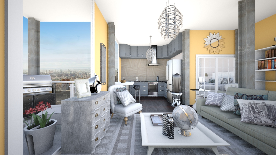 Sparkle - Modern - Living room - by CreativeCE