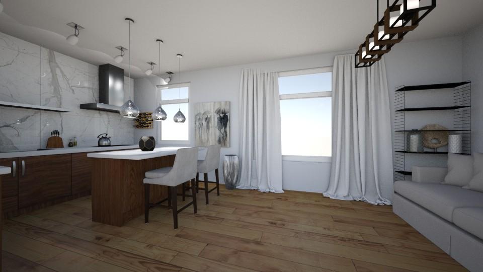 vc bcff - Kitchen - by jasminjenia