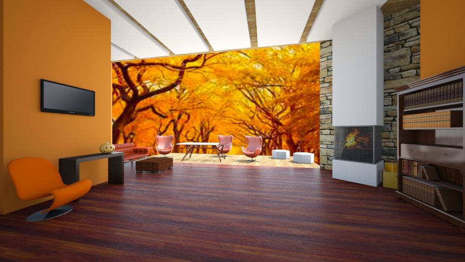FALL  - Modern - Living room - by Calolynn