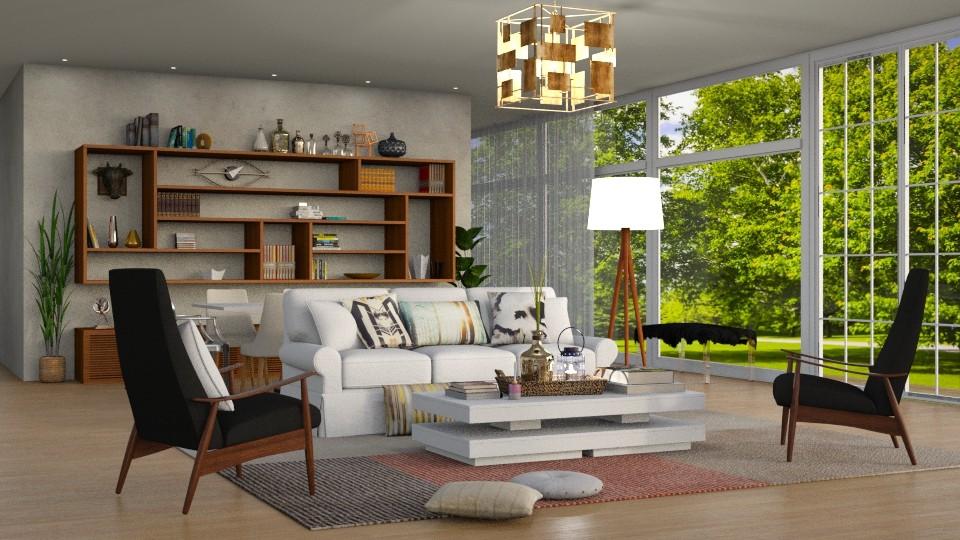 New Living - Living room - by DeborahArmelin