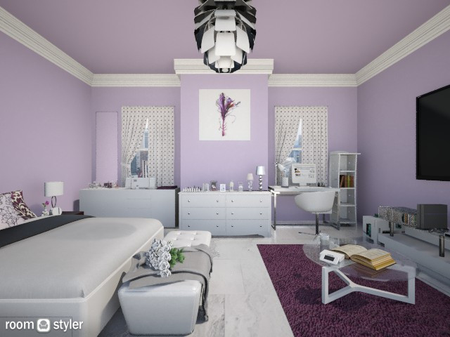 Ann - Feminine - Bedroom - by Anna Wu